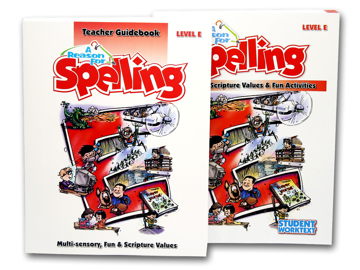 Spelling Level E Set (Limited Stock)