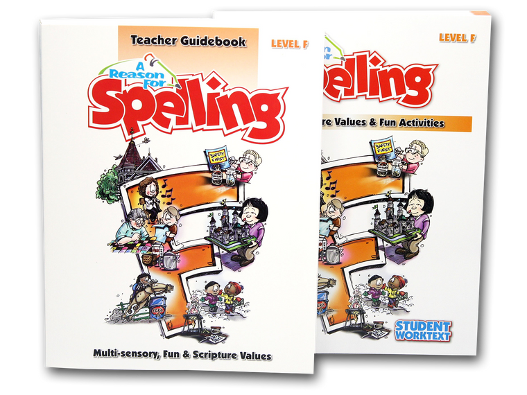 Spelling Level F Set (Limited Stock)