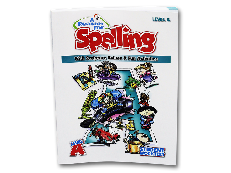 Spelling Level A Student Worktext (Limited Stock)