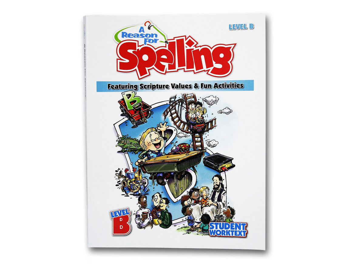 Spelling Level B Student Worktext (Limited Stock)
