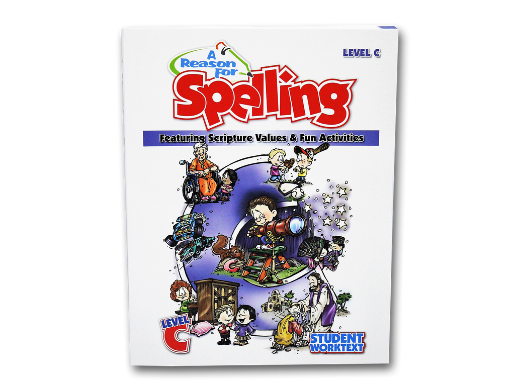 Spelling Level C Student Worktext (Limited Stock)