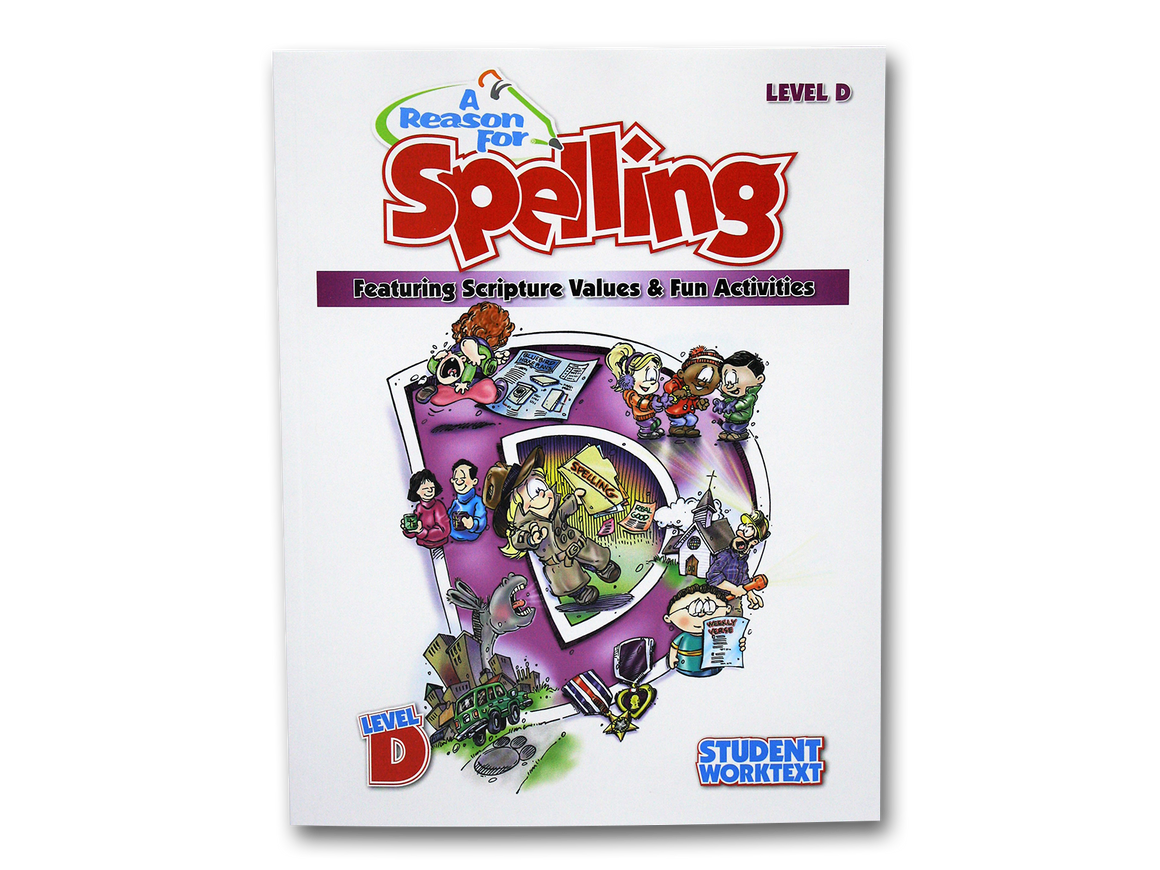 Spelling Level D Student Worktext (Limited Stock)