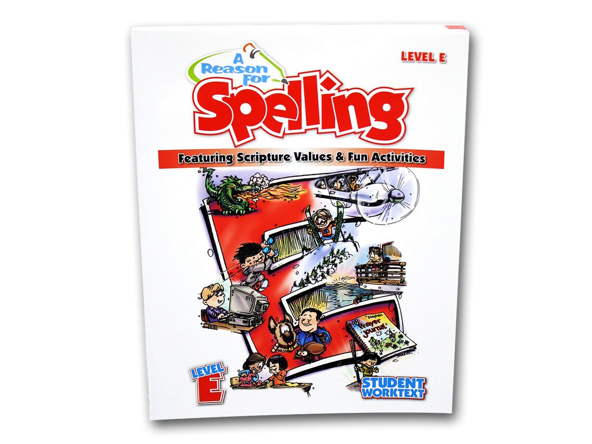 Spelling Level E Student Worktext