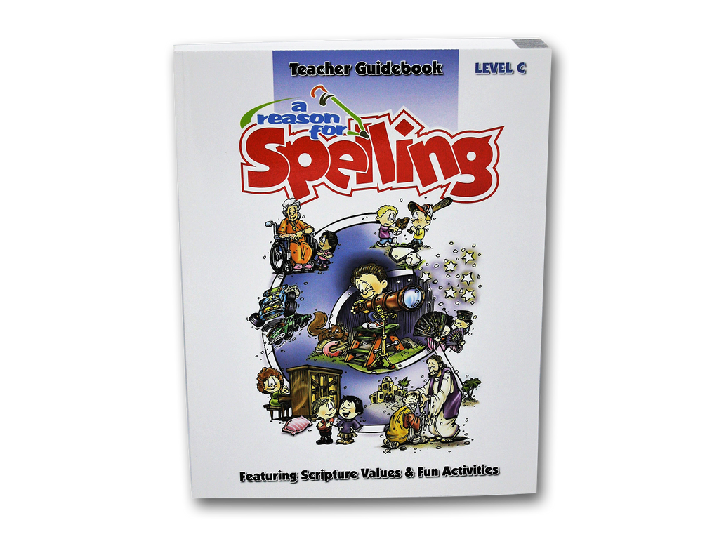 Spelling Level C Teacher Guidebook (Limited Stock)