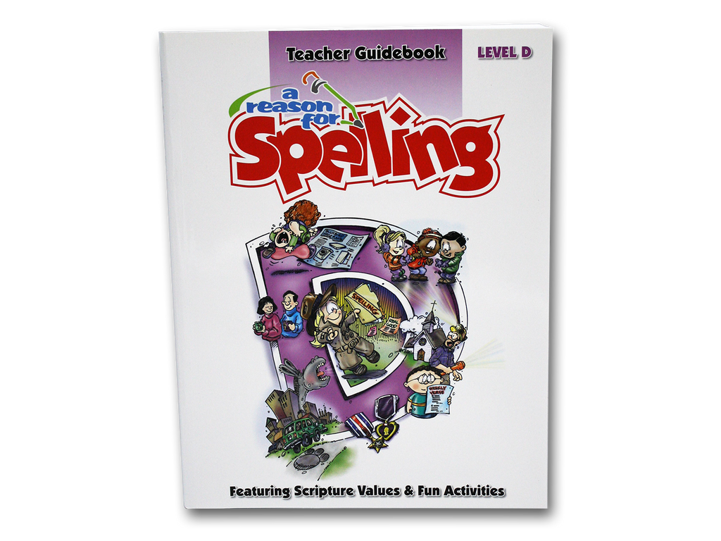 Spelling Level D Teacher Guidebook