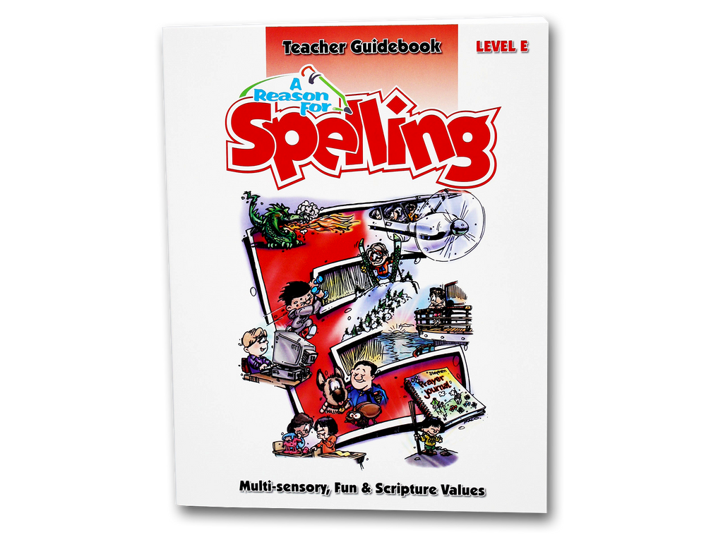 Spelling Level E Teacher Guidebook (Limited Stock)
