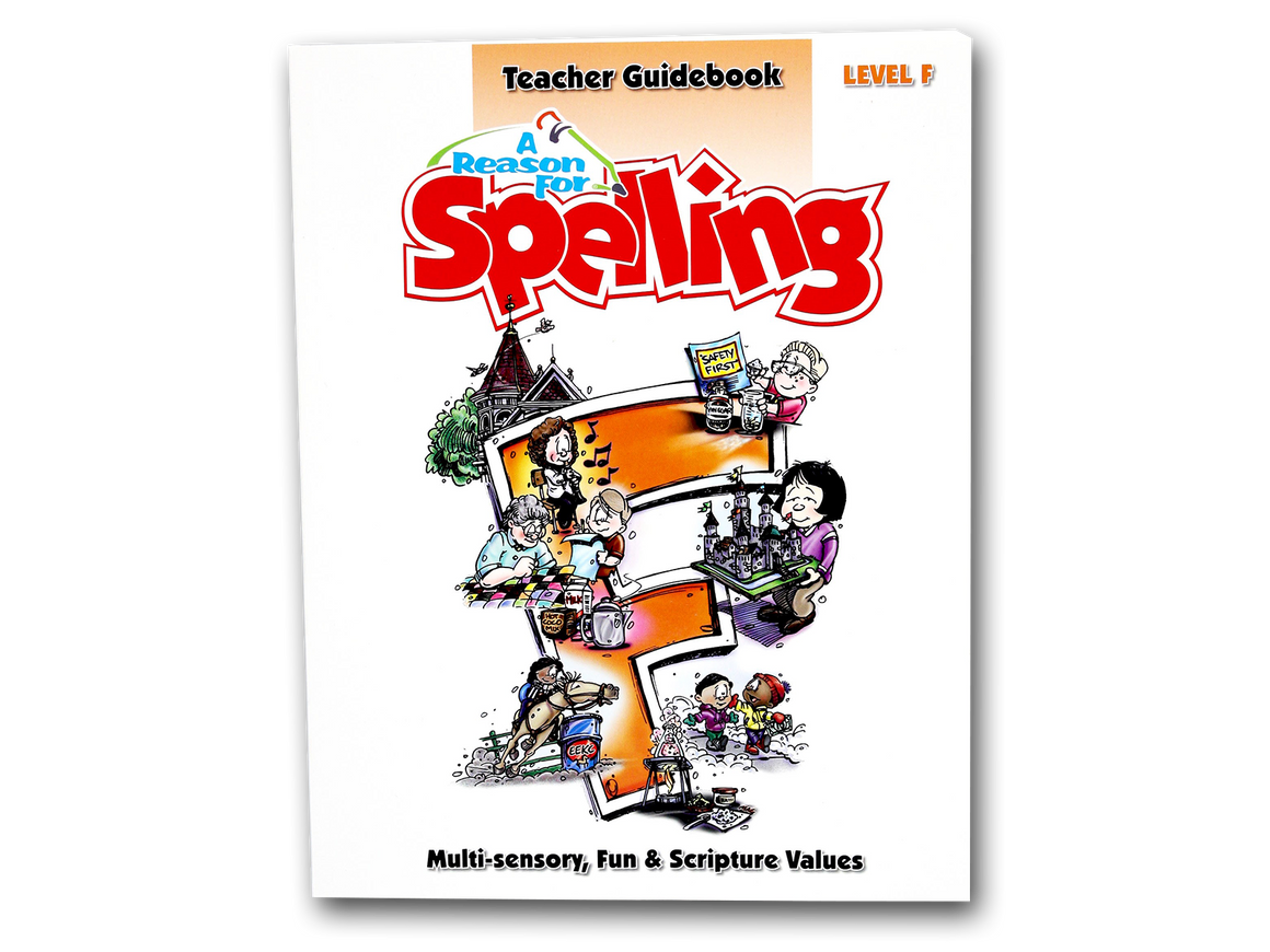 Spelling Level F Teacher Guidebook (Limited Stock)