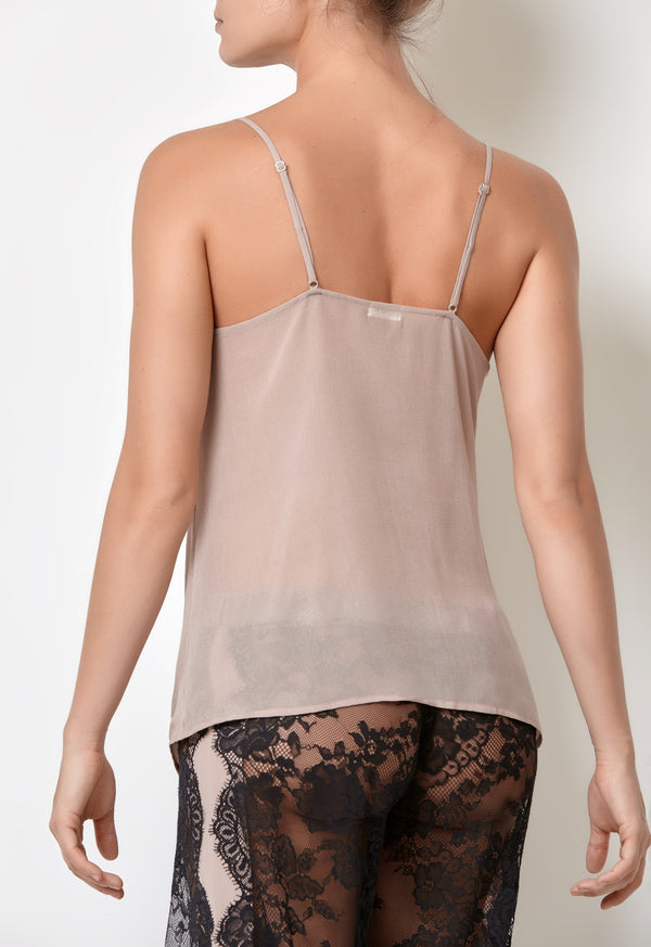Millesime Luxury Camisole Silk Tank Top Soft to Touch