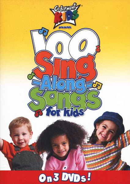 Cedarmont Kids 100 Sing-Along Songs for Kids DVDs