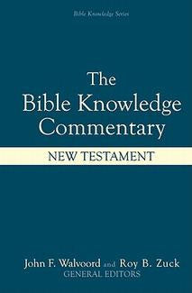Bible Knowledge Commentary -  New Testament