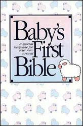 KJV #112C Baby's First Bible Hardcover - Illustrated