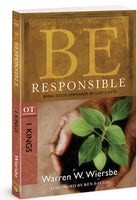 Be Responsible: Being Good Stewards of God's Gifts- I Kings