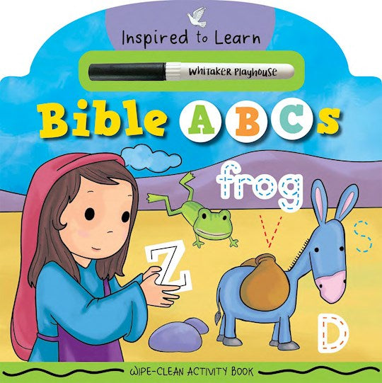 Bible ABCs (Wipe-Clean Activity Book)