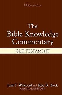 Bible Knowledge Commentary -  Old Testament