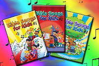Bible Songs for Kids - Song Book Set - Vol 1-7