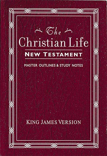 KJV Christian Life New Testament Kivar