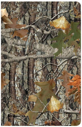 CSB Sportsman's Bible Large Print Mothwing Camo Leathersoft