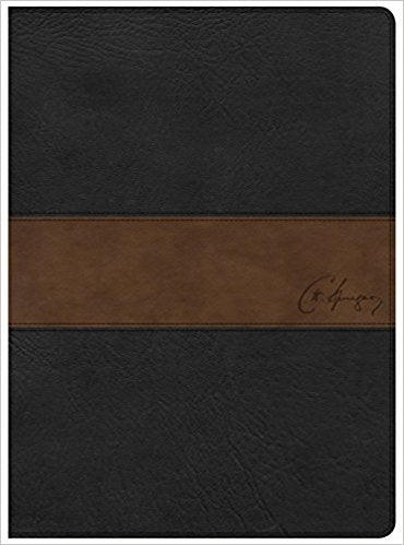 The CSB Spurgeon Study Bible Black/Brown LeatherTouch