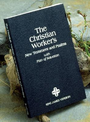 KJV Christian Worker's New Testament and Psalms Kivar