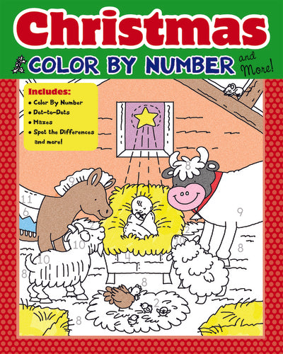 Christmas Color By Number And More!