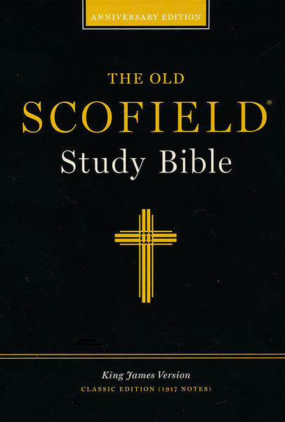 KJV Scofield Study Bible Classic Edition #291RL Black Bonded Indexed