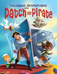 Coloring Adventures with Patch the Pirate