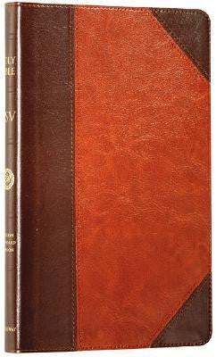 ESV Thinline TruTone Bible Brown/Cordovan with Portfolio Design
