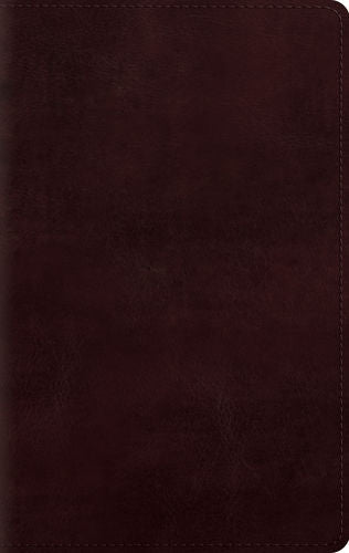 ESV Large Print Personal Size Bible TruTone Mahogany