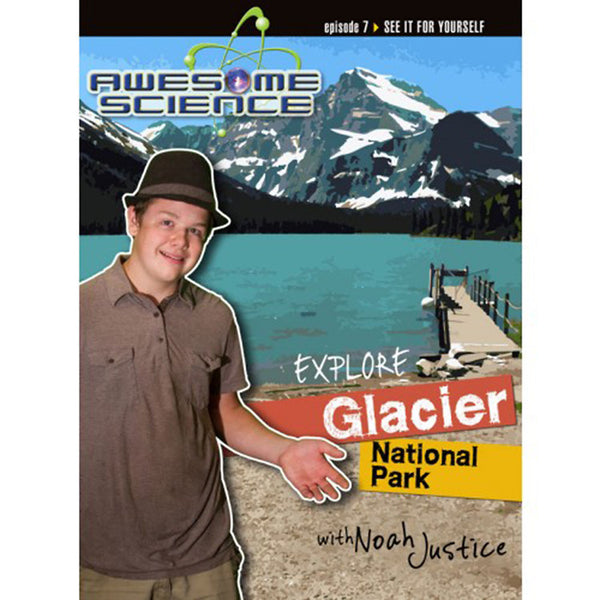 Awesome Science- Explore Glacier National Park DVD