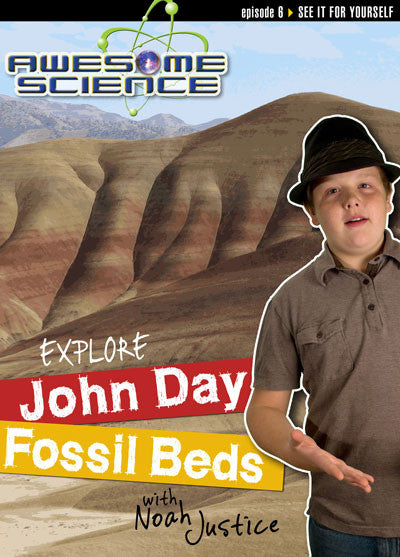 Awesome Science- Explore John Day Fossil Beds DVD