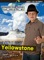 Awesome Science- Explore Yellowstone DVD