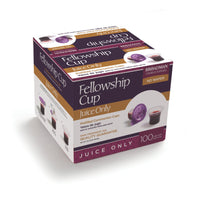 Fellowship Cup ® – prefilled communion cup – Juice Only – 100 Count Box