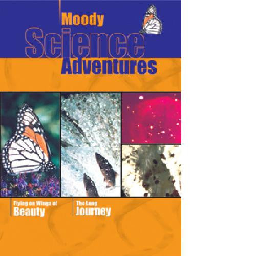Moody Science Adventure DVD Flying on Wings of Beauty/The Long Journey