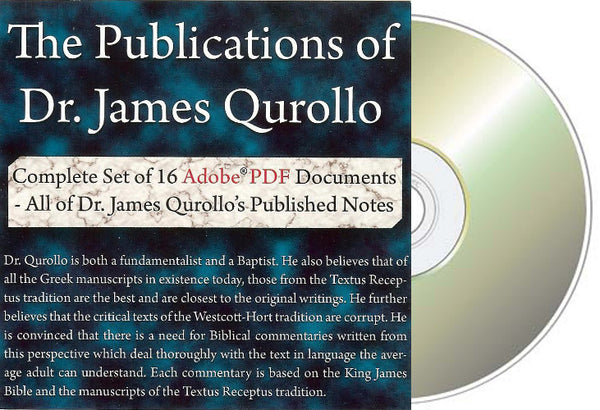 The Publications of Dr. James Qurollo CD