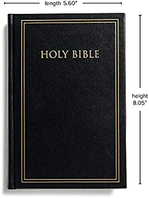 KJV Pew Bible - Black  Case of 24