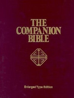 KJV The Companion Bible ENLARGED TYPE Hardcover