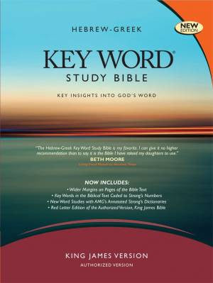 KJV Zodhiates Hebrew-Greek Keyword Study Bible Bonded Black