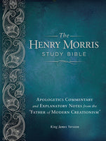 KJV The Henry Morris Study Bible Hardcover
