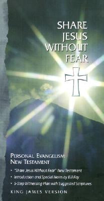 KJV Share Jesus Without Fear Personal Evangelism New Testament Bonded Black