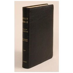 KJV Old Scofield Study Bible Standard Edition #274RRL Black Genuine Indexed