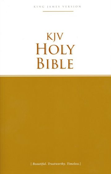 King James Version Outreach Bible Paperback