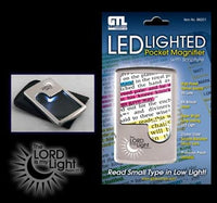 LEDlighted Pocket Magnifier with Scripture
