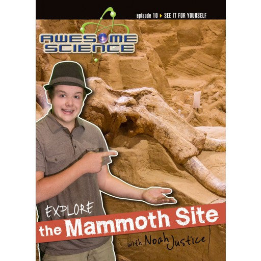 Awesome Science- Explore Mammoth Site DVD