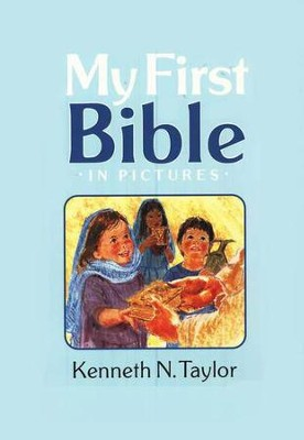 My First Bible In Pictures Blue
