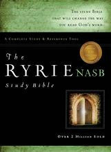 NASB Ryrie Study Bible Genuine Black - New Format