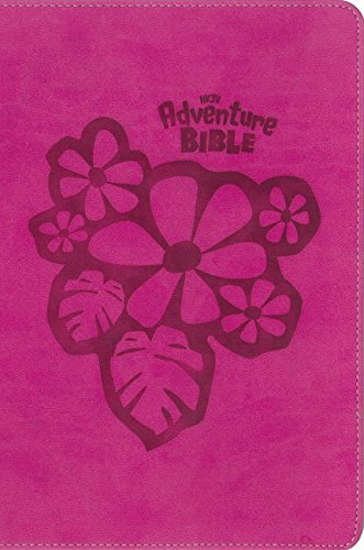 NKJV Adventure Bible (Full Color) Raspberry Leathersoft