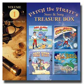 Patch the Pirate's Treasure Boxes Volume 1 - CD