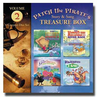 Patch the Pirate's Treasure Boxes Volume 2 - CD