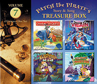 Patch the Pirate's Treasure Boxes Volume 7 - CD
