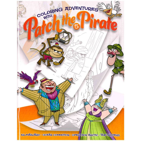 Coloring Adventures with Patch the Pirate #5